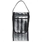 Praktická chladící taška z termofolie a PVC, černá