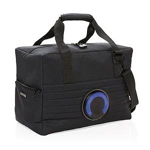Chladící taška s reprákem, černá