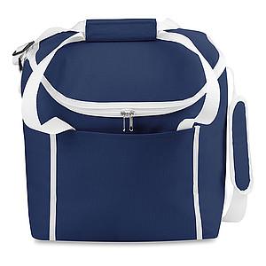 Chladící taška s popruhem přes rameno, modrá