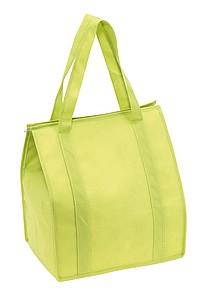 Široká chladící taška, světle zelená