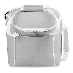 Chladící taška s popruhem přes rameno, šedá
