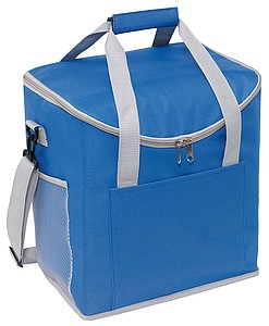 HIRAM Chladící taška s popruhem na rameno, modrá
