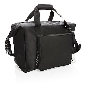 XXL nákupní a sportovní chladicí taška, černá