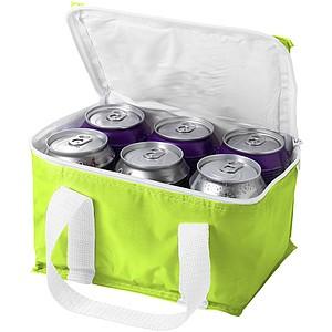 Chladící taška na 6 plechovek, zelená