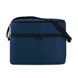 FLORENT Chladící taška s dvěma oddíly, tmavě modrá