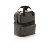 Chladící taška s dvěma izolovanými oddíly, antracitová