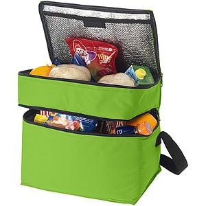 Dvoupatrová chladící taška, světle zelená