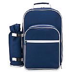 Piknikový batoh pro dvě osoby, modrá