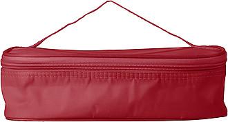 COLAR Chladící taška s lunchboxem na svačinu, červená