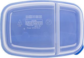 COLAR Chladící taška s lunchboxem na svačinu, modrá