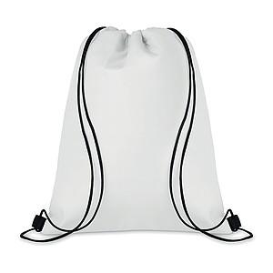 Chladící stahovací batoh, bílý