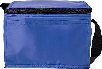 Chladící taška s černým popruhem, modrá