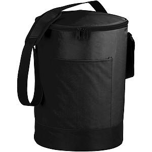 Oválná chladící taška, černá