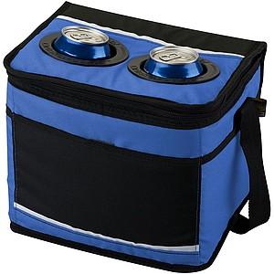 Chladící taška na dvanáct plechovek, modrá