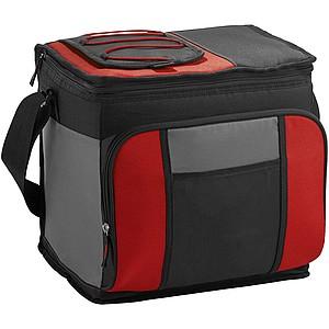 Velká chladící taška s pohotovostním přístupem, červená