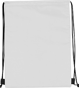 PORFA Chladící stahovací batoh, bílá