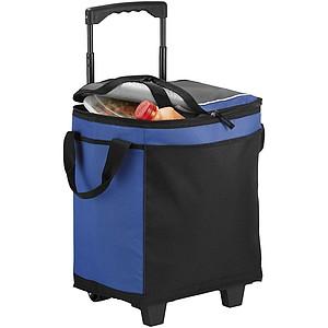 Chladící taška na kolečkách, modrá
