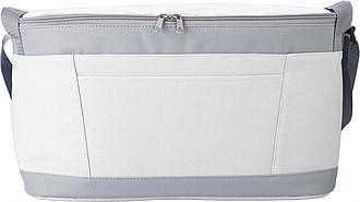Chladící taška, šedo bílá