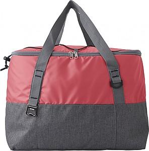 Chladící taška, černo červená
