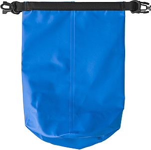 BANE Vodotěsný pytlík s popruhem a karabinou, modrý