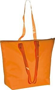 Plážová taška s průhlednými uchy, oranžová