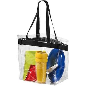Průhledná PVC plážová taška