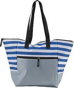 BOLSA Plážová taška na zip, modrá