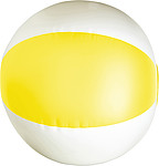 BALON nafukovací míč průměr 26 cm, žlutá,