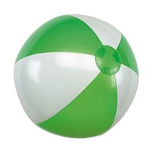 """nafukovací míč průměr 28 cm, 16"""", zelená/bílá"""