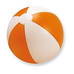 Nafukovací plážový míč, oranžová
