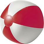BALON nafukovací míč průměr 26 cm, červená,