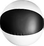 BALON Nafukovací míč průměr 26 cm, černo bílý