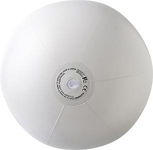 ELENDIL Nafukovací míč, průměr 26 cm, bílý