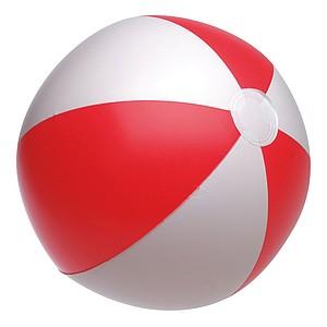 """nafukovací míč průměr 28 cm, 16"""", červená, bílá"""