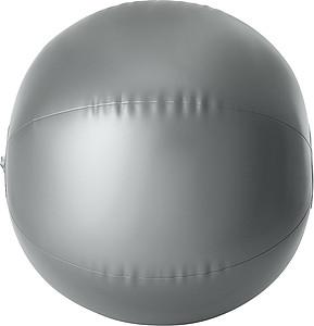 ELENDIL Nafukovací míč, průměr 26cm, stříbrný