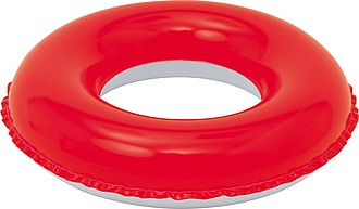 Dětský plovací kruh, bílo červený