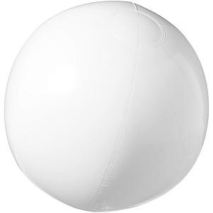 Neprůhledný nafukovací plážový míč, bílá
