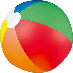 Šestibarevný nafukovací plážový míč