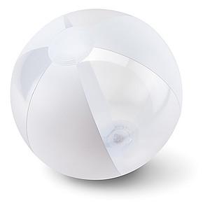 Nafukovací plážový míč, bílý