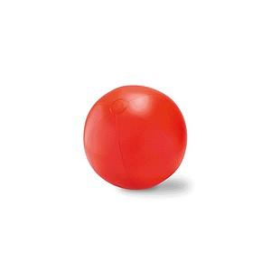 Velký nafukovací plážový balon, červená