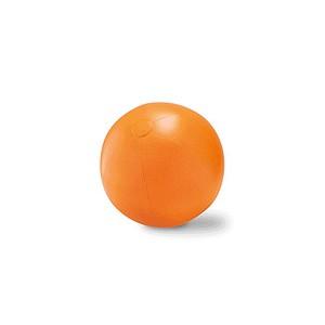 Velký nafukovací plážový balon, oranžová