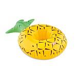 Nafukovací držák plechovek ve tvaru ananasu