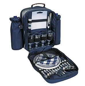 BARBADOS piknikový batoh s přísluš. pro 4 osoby