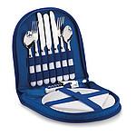 Piknikový set pro 2 osoby, královská modrá