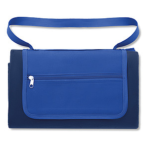 Pikniková deka 150x120cm, modrá