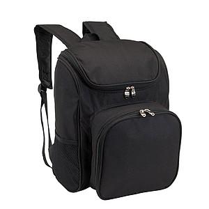 Piknikový batoh, černý
