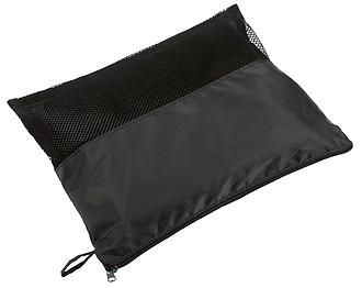 Pikniková deka v uzavíratelném obalu, černá