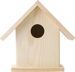 Dřevěná ptáčí budka k dotvoření