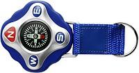 Kompas s řemínkem, modrý