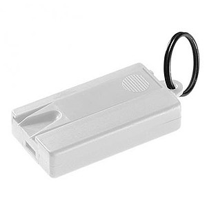Přívěšek na klíče proti klíšťatům s rukavicemi, bílá